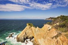 The Koganezaki Cape on the Izu Peninsula, Japan Royalty Free Stock Images