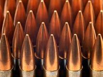 Kogels in een rij Stock Foto's