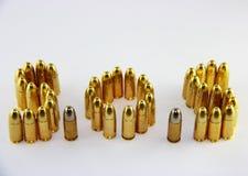 Kogels met S.O.S. Stock Afbeelding