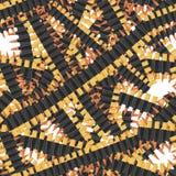 Kogels naadloos patroon Velen militaire Bandolier Textuurleger royalty-vrije illustratie