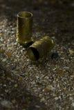 Kogels ter plaatse op een regenachtige dag royalty-vrije stock fotografie