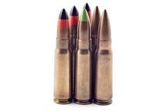 Kogels voor kalashnikov Royalty-vrije Stock Foto