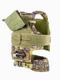 Kogelvrij vest, kogelvrij multifunctioneel beschermend vest, C stock afbeelding