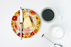 Kogelvrije koffie receipe Stock Fotografie