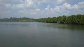 Koggala jezioro w Sr Llanka obrazy stock
