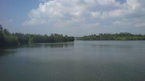 Koggala jezioro w Sr Llanka zdjęcia royalty free