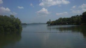 Koggala jezioro w Sr Llanka Zdjęcia Stock