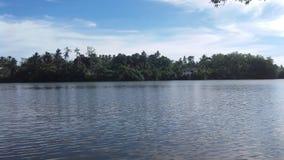 Koggala laguny sri lanki madol doowa obraz royalty free