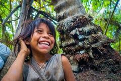 Kogi ludzie, miejscowa grupa etnicza, Kolumbia zdjęcia royalty free