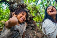 Kogi ludzie, miejscowa grupa etnicza, Kolumbia fotografia royalty free