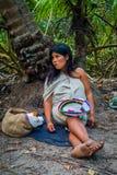 Kogi people, indigenous ethnic group, Colombia Royalty Free Stock Photos