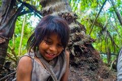 Kogi people, indigenous ethnic group, Colombia Stock Photo