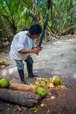 Kogi people, indigenous ethnic group, Colombia Royalty Free Stock Images