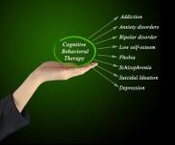 Kognitiv beteende- terapi arkivfoto