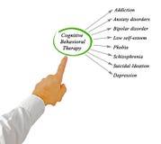 Kognitiv beteende- terapi royaltyfria foton