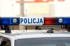 Kogut policja. Obraz Stock
