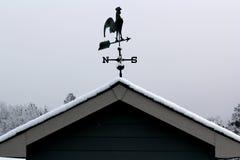 Koguta weathervane Fotografia Stock
