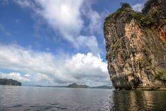 Koh κόλπος της Hong Phang Nga κοντά σε Phuket, Θάλασσα Ανταμάν στοκ εικόνες