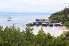 koh νησιών καρύδων kood ωκεάνιος ειρηνικός φοίνικας Στοκ εικόνα με δικαίωμα ελεύθερης χρήσης