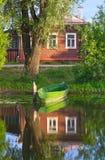 koh σπιτιών τσιγγάνων αλιείας ψαράδων AO μουσουλμανικό εθνικό χωριό θάλασσας πάρκων panyee nga phang Στοκ φωτογραφίες με δικαίωμα ελεύθερης χρήσης