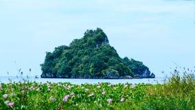 Koh на заливе Aouw Nang море Krabi ndaman, к югу от Таиланда Стоковые Фотографии RF