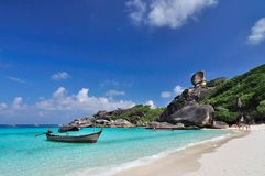 Koh 8, Similan island, Phang-nga, Thailand Royalty Free Stock Photos