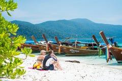 KOH ADANG, THAILAND Royalty Free Stock Photography