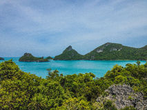 Koh Ang Thong marine park Royalty Free Stock Photography