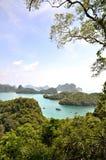 Koh angthong. At sea thailand Royalty Free Stock Photography