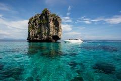 Koh brzęczeń Osamotniona wyspa Obraz Stock