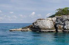 Koh Chang, île tropicale et vue de mer Été de la Thaïlande Photos libres de droits