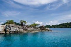 Koh Chang, тропический остров и вид на море Лето Таиланда Стоковая Фотография