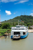 The Koh Chang ferry pier Royalty Free Stock Images