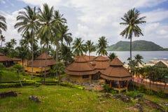 Koh Chang Paradise Resort-&Spa ist ein romantisches, ruhiges sanctuar Stockfotografie