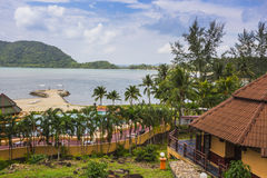 Koh Chang Paradise Resort-&Spa ist ein romantisches, ruhiges sanctuar Lizenzfreie Stockfotos