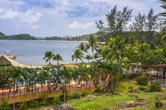 Koh Chang Paradise Resort-&Spa ist ein romantisches, ruhiges sanctuar Stockfotos