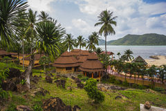 Koh Chang Paradise Resort-&Spa ist ein romantisches, ruhiges sanctuar Lizenzfreies Stockfoto