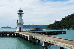 Koh Chang Pier, Thailand Royalty Free Stock Photography