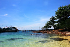 KOH Chang Strand stockbild