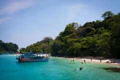 Koh Chang Thailand. Clear water in Koh Chang Thailand royalty free stock photography