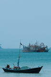 Koh Chang, Thailand.  Many of Ko Chang's villages rely o Royalty Free Stock Photo