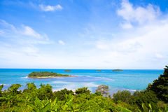Koh Chang, Thailand scenery. A translation of warehouse Island. The southeast coast of Gulf of Thailand and Thailand's largest island. Located at latitude 12 ° Royalty Free Stock Image