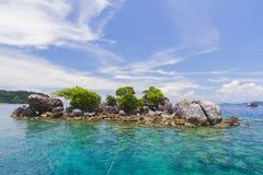 Koh Chang, Thailand, sky, sea, boats, Diving. Koh Chang Thailand travel sea royalty free stock photo