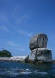 Koh. The Rock at Koh royalty free stock photos