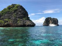 Koh ha in Thailand. Koh ha, Beautiful island in Thailand. Many tourist go to diving there Royalty Free Stock Image