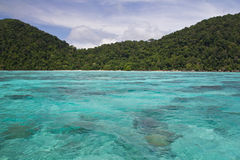 Koh het Nationale Park van Surin Royalty-vrije Stock Fotografie
