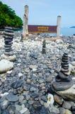 Koh hin ngam island in thailand. Island of stone or koh hin ngam in Thailand Stock Photography