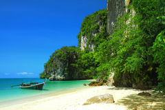 Koh Hong island bay andaman sea in Thailand. Royalty Free Stock Image