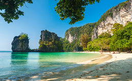 Koh Hong island bay, Andaman Sea Royalty Free Stock Photography