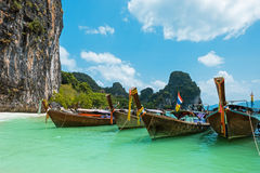 Koh Hong island bay, Andaman Sea - Thailand Stock Photography